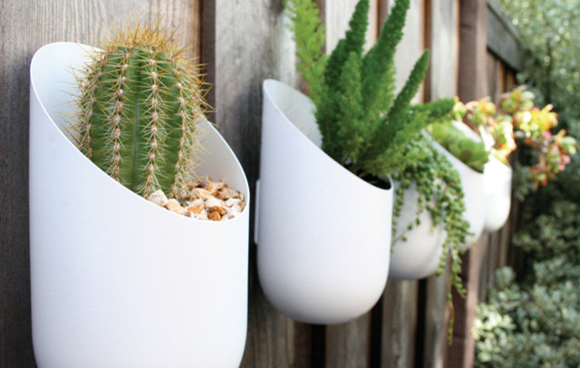 Wallter Outdoor Planters contemporary-outdoor-planters