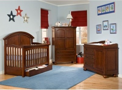 Legacy Classic American Spirit 4-in-1 Convertible Crib Collection modern-cribs