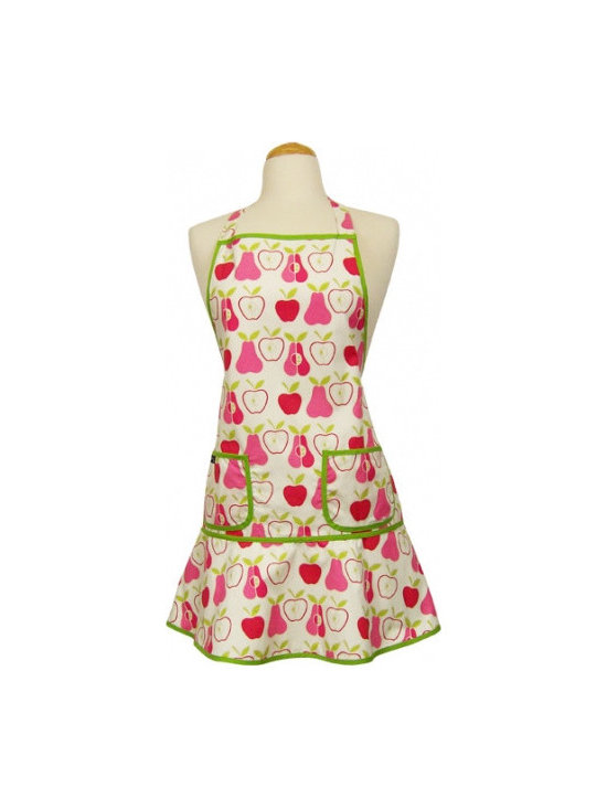 Pink Pears Retro Apron as seen on Desperate Houswives! -