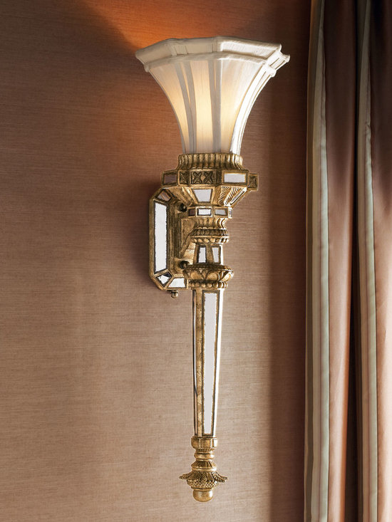 Lighting - A spectacular take on a traditional sconce.