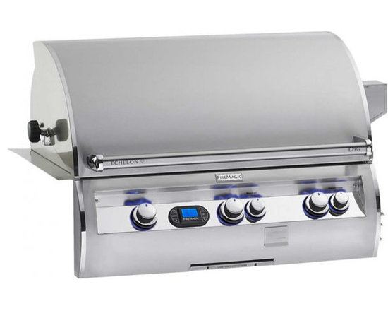 Fire Magic Echelon E790i Built-In Gas Grill - Fire Magic Echelon Diamond Built-In Gas Grill Model E790i With LED Lighting & Rotisserie.