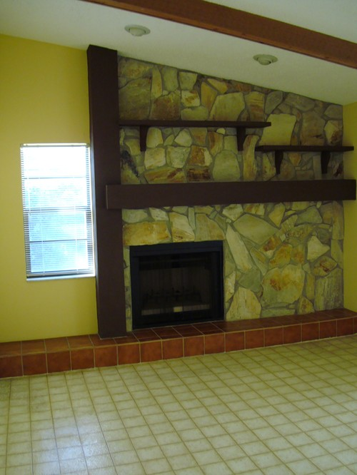 Need Advice On How To Update An 80s Fireplace