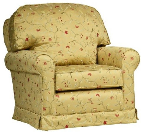 Little Castle Versailles Glider with Optional Ottoman traditional rocking chairs