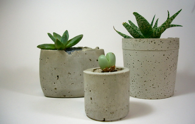 Dachshund In The Desert Handmade Concrete Planters