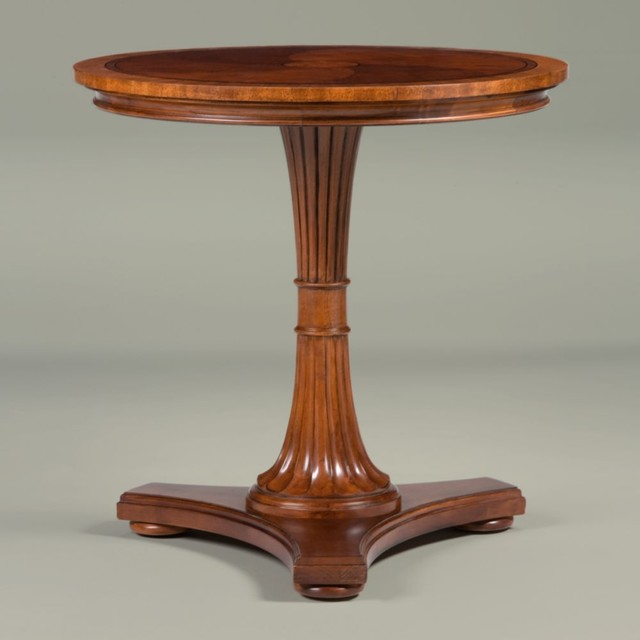 Ethan Allen Townhouse Coffee Table: Townhouse Upton Pedestal Table