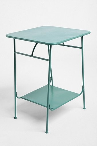 Factory Side Table, Green modern side tables and accent tables