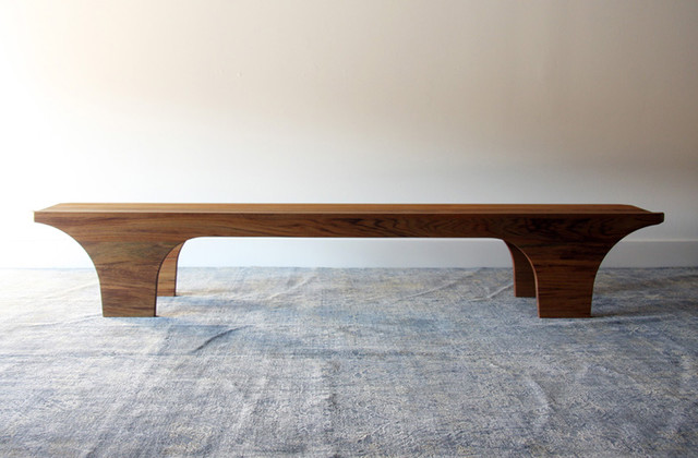 Scoop Bench by henrybuilt furniture contemporary-benches