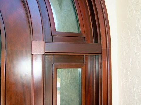 Mahogany front door traditional front doors