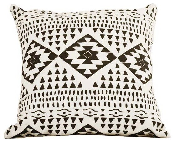 Santa Fe Throw Pillow eclectic-decorative-pillows