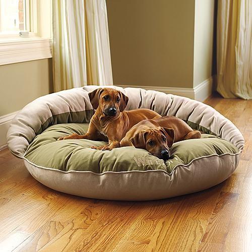 Reversible Bolster Pet Bed Dog Bed traditional-dog-beds