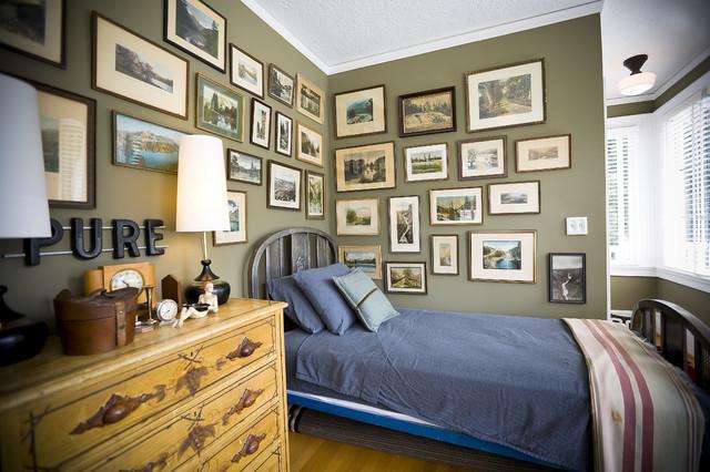 Child's Bedroom rustic-kids