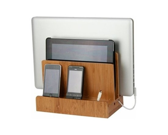 Bamboo Multi-Charging Station -