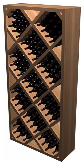 Designer Series Wine Rack - Diamond Bin with Front Trime contemporary-wine-racks