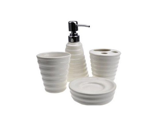 European Style Cone Ceramic Bath Accessory Sets - Bath Accessory Sets