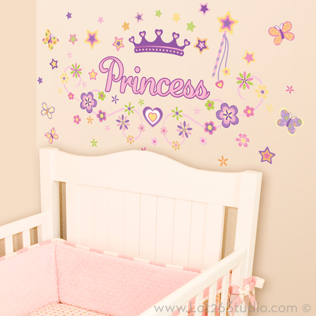 princess wall decals wall decals san francisco by lot 26 studio