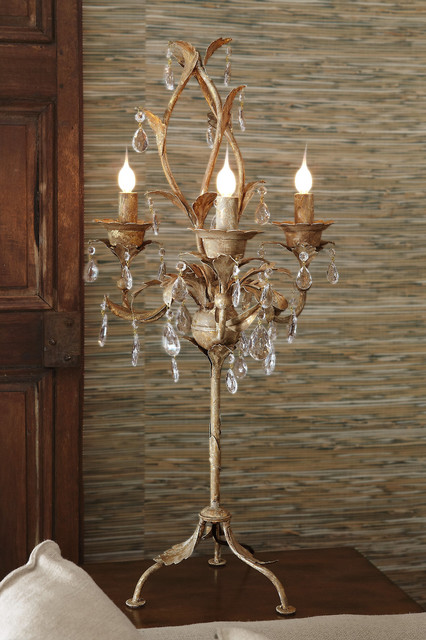 Katherine Chandelier Table Lamp Traditional Table