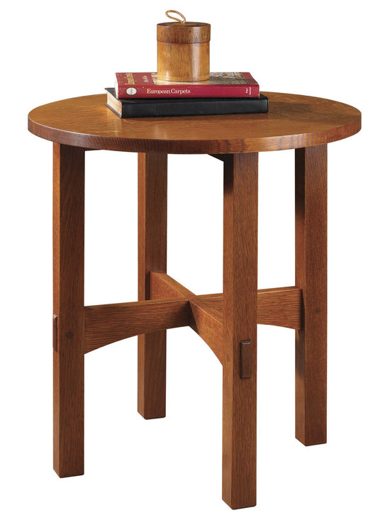 Stickley Round Tabouret Table 89/91-603 -