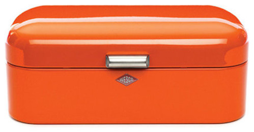 Wesco Bread Bin - Orange traditional food containers and storage