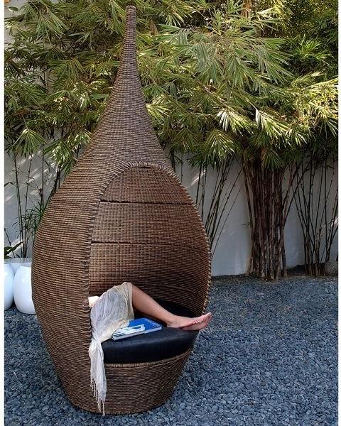 Genie Outdoor Wicker Pod Chair outdoor-chairs