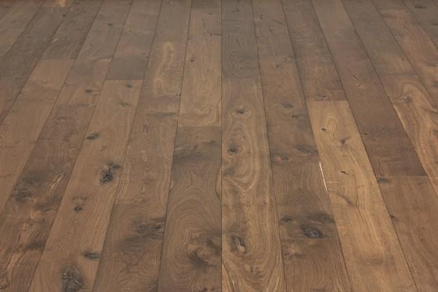 Dark Brown Rustic Oak Flooring Supplied Prefinished