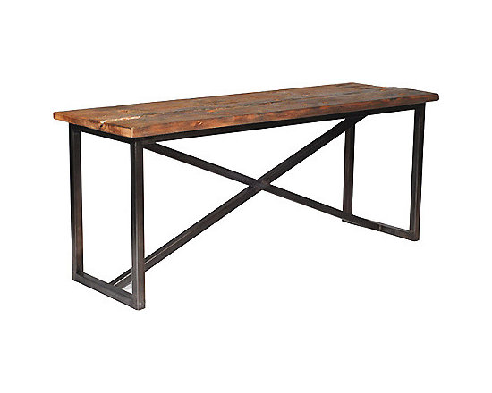 Salvaged Wood Console -