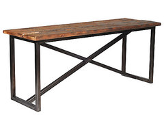 Salvaged Wood Console  desks