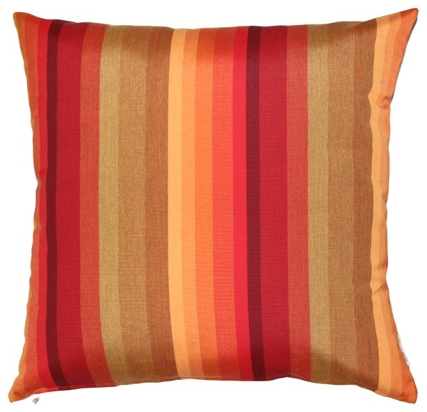 Pillow Decor Sunbrella Astoria Sunset 20 x 20 Outdoor