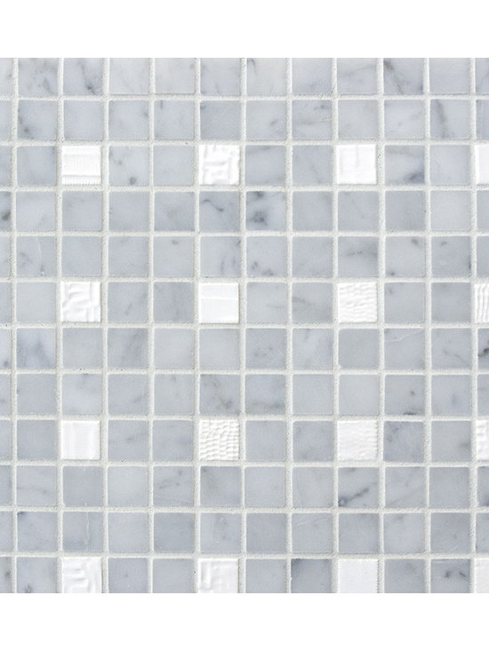 Cascade Blend #9 - The Cascade Collection includes 11 different blends of ceramic tile and natural stone