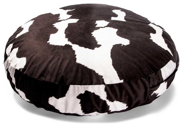 Jaxx Cocoon Jr 4-foot Bean Bag, Cow Pattern modern-bean-bag-chairs