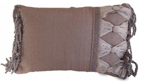 Smoke Rectangular Pillow traditional-bed-pillows