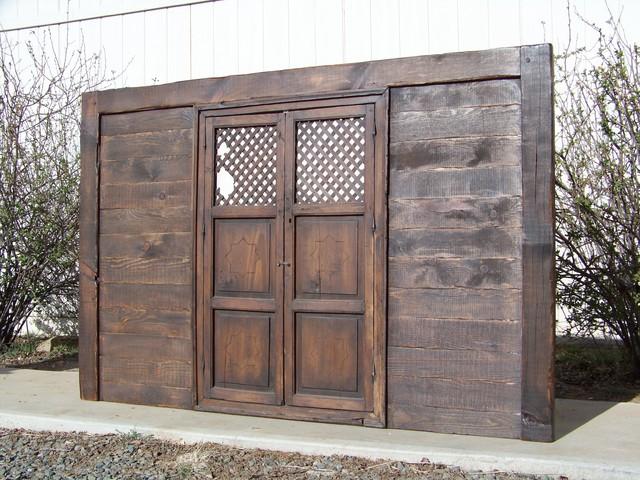 Reclaimed gate Headboard Modern Furniture phoenix