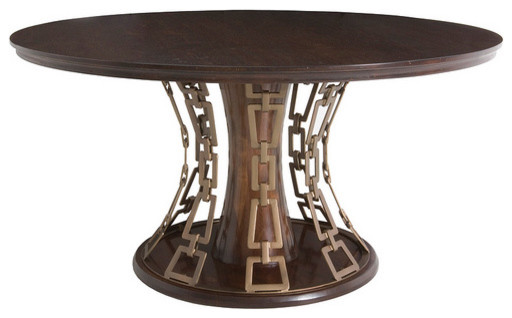 Dining table top and base traditional dining tables for Traditional dining table bases