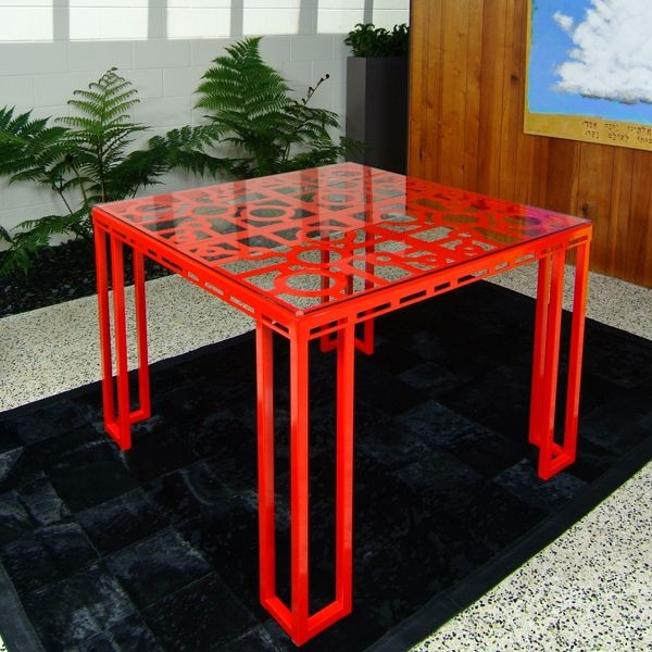 Aluminum Outdoor Dining Table outdoor-tables