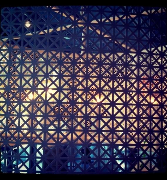Iron Chandelier Detail modern-chandeliers