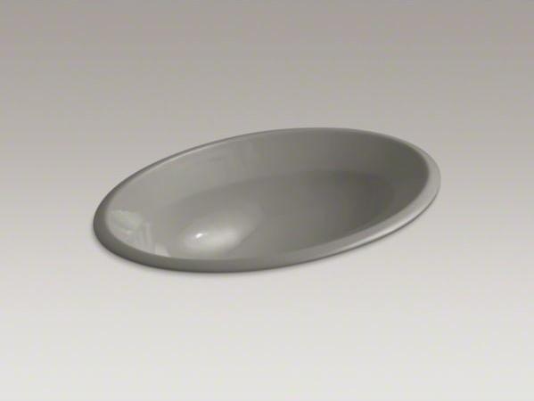 KOHLER Centerpiece(R) drop-in bathroom sink contemporary-bathroom-sinks