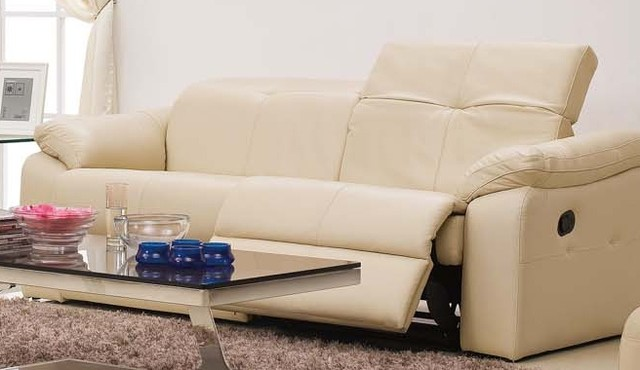 Bellina Italian Leather Reclining Sofa Modern Sofas