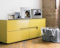Latitude Grellow Low Dresser CB2 contemporary dressers chests and bedroom armoires