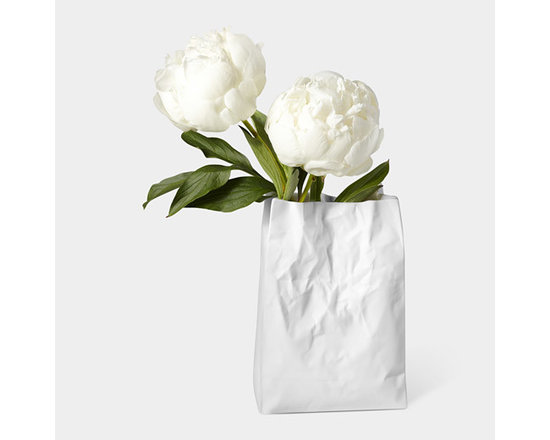 Crinkle Bag Vase -