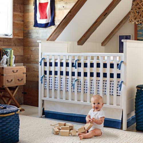 James Three-Piece Crib Set traditional-cribs