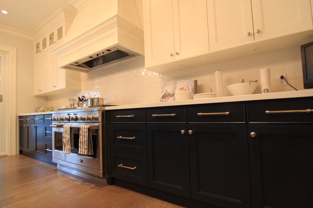 Two toned kitchen kitchen cabinetry vancouver by for 2 toned kitchen cabinets