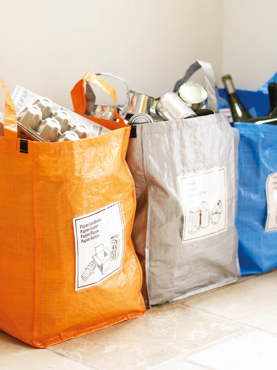 Set of Three Kitchen Recycle Bags -