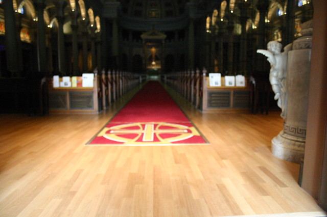 Church hardwood-flooring