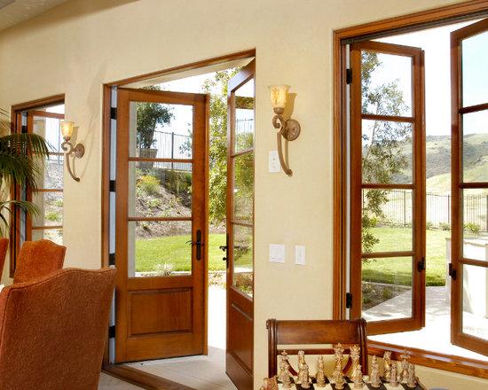 Matching Window & Door -