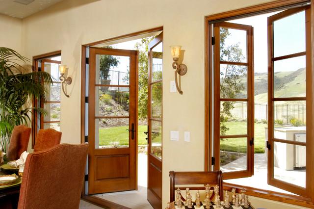 Matching Window & Door traditional-windows