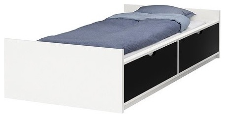 ODDA Bed frame with drawers modern-beds