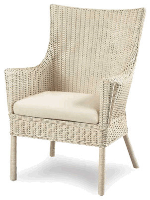 7561 Loft Wicker Arm Chair traditional-accent-chairs