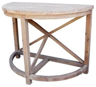 Architect's Console Table traditional-side-tables-and-end-tables