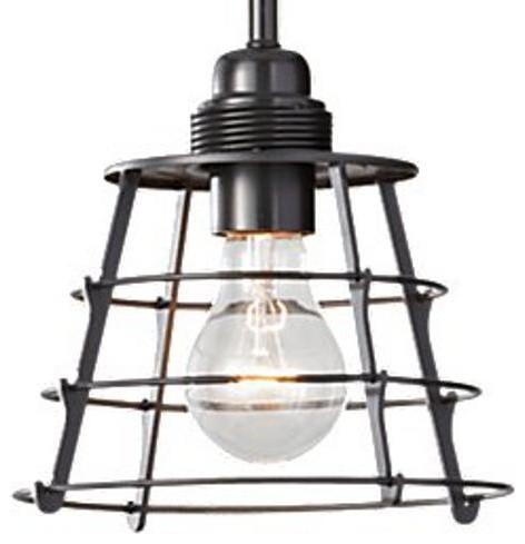 Restoration Warehouse Urban Renewal Pendant - Dark Bronze traditional-pendant-lighting