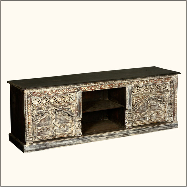 """Solid Hardwood 70"""" TV DVD Cabinet Media Console Entertainment Center entertainment-centers-and-tv-stands"""