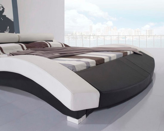 Leather Bed - Italian Leather - HX-A022 -